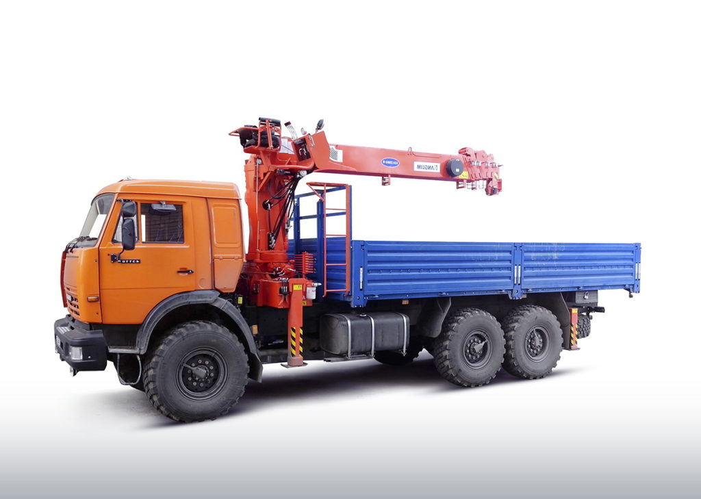Манипулятор 7 тонн Вездеход (6х6)