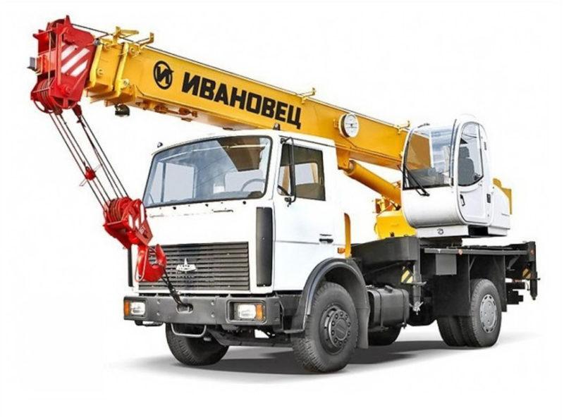 Автокран 14 тонн/ 14 метров