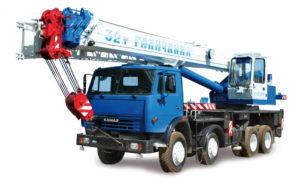 Автокран 32 тонн стрела 30 метров