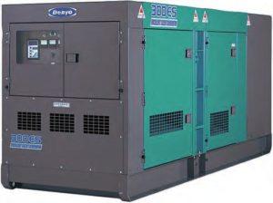 Дизельный генератор DCA-300ESК 216 кВт