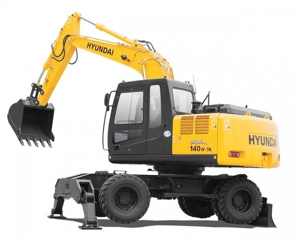 Экскаватор HYUNDAI R140W-7